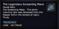 The Legendary Screaming Mace