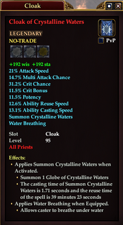 Cloak of Crystalline Waters (Priest)