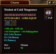 Trinket of Cold Vengeance
