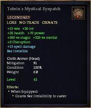 Tobrin's Mystical Eyepatch