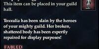 Trophy: Effigy of Toxxulia