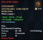 Fist of the Lotus