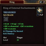 Ring of Enternal Enchantments