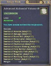 Advanced Alchemist Volume 49