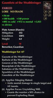 Gauntlets of the Wrathbringer