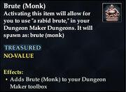 Brute (Monk)