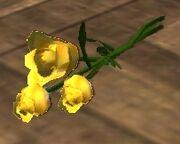 Three Yellow Roses (Visible)