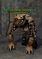 A Kragbak warmonger