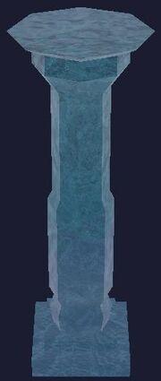 Glacial pillar (Visible)