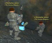 Mortartoe miner