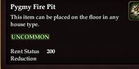 Pygmy Fire Pit