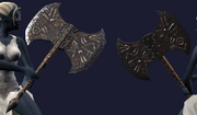 Scythewarden Armblade (Equipped)