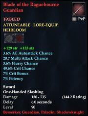Blade of the Ragebourne Guardian