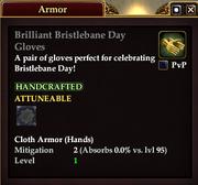 Brilliant Bristlebane Day Gloves