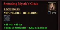 Snowfang Mystic's Cloak