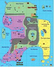 Map Odus