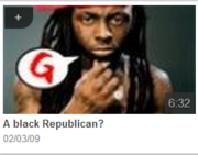 Capitol hill gangsta black republicain