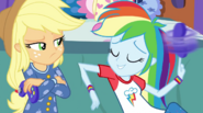 Rainbow Dash spinning her controller EG2