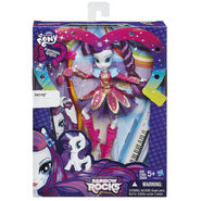 Rainbow Rocks Rarity Rockin' Hairstyle doll packaging