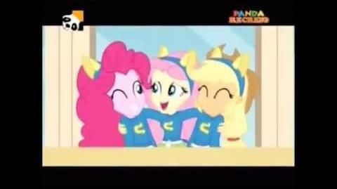 Equestria Girls (Cafeteria Song) - European Portuguese