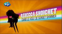 "My Little Pony Equestria Girls Rainbow Rocks ""Rebecca Shoichet as Sunset Shimmer"" Credit - French"