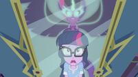Midnight Sparkle appears behind Sci-Twi EG4