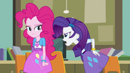Rarity snaps at Pinkie Pie EG