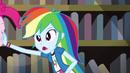 Rainbow shoves Pinkie off-screen EG3