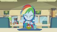 Rainbow Dash getting annoyed EG2
