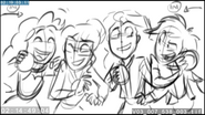 EG3 animatic - Sci-Twi and Sunset surrounded by friends