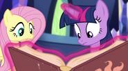 """Fluttershy """"what is it, Twilight?"""" EG2"""