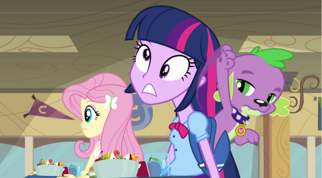 File:Spike hits Twilight's head.png