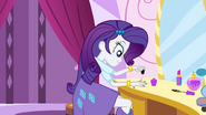 Rarity painting her nails EG