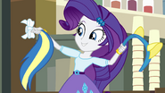 Rarity presents pony ears and tail EG