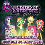 Legend of Everfree soundtrack album cover