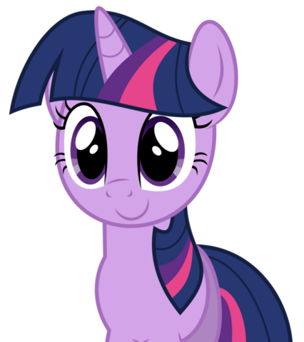 File:FANMADE Happy Twilight Sparkle without wings.png