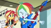 "Rainbow Dash ""we would totally rock it"" EG3"