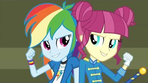 Arabic CHS Rally Song - MLP Equestria Girls Friendship Games