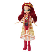 Legend of Everfree Boho Assortment Sunset Shimmer doll