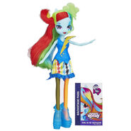 Rainbow Rocks Neon Rainbow Dash doll