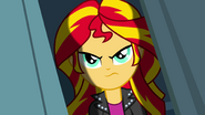 Sunset Shimmer displeased EG