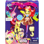 Rainbow Rocks Fluttershy Doll and Pony Set packaging
