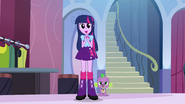 Twilight admiring her friends' new fashion EG