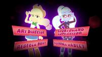Art director and storyboard supervisor credits EG3