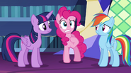 "Pinkie ""why wasn't I told about it?"" EG2"