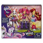 Cutie Mark Crusaders EG Wild Rainbow doll packaging