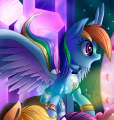 Rainbow Dash Pegasus ID WeLoveFine