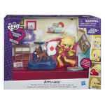 Equestria Girls Minis Applejack Bedroom set packaging
