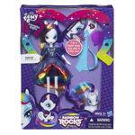 Rainbow Rocks Rarity Doll and Pony Set packaging