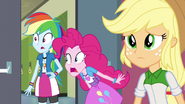 Rainbow and Pinkie in shock and awe EG3